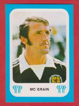 Scotland Danny McGrain Glasgow Celtic